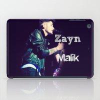 zayn malik iPad Cases featuring Zayn Malik Singing by Marianna