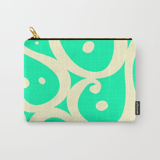 Mint Cream Jelly  Carry-All Pouch