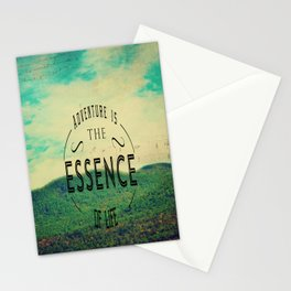 Essence Of Life  Stationery Cards
