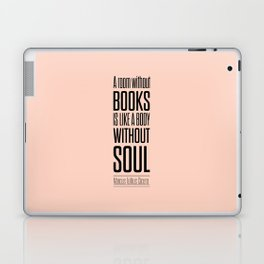 Lab No. 4 - Marcus Tullius Cicero Inspirational Quotes Poster Laptop & iPad Skin