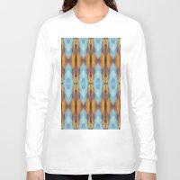 safari Long Sleeve T-shirts featuring Summer Safari by misscrocodile63/drawings/photo/paintings