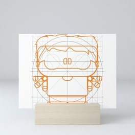LLOTE DAVINCI Mini Art Print