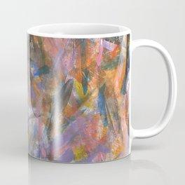 Dark Moods Brushstroke Abstract Coffee Mug