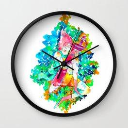 I'm still here. Wall Clock