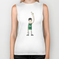 kevin russ Biker Tanks featuring Kevin McHale by frappeboy