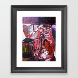 A Series of Wedding Dancer Still-Life Paintings 4. Framed Art Print