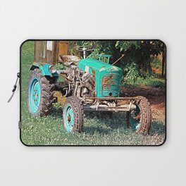 Old traditional Lindner tractor | conceptual photography Laptop Sleeve