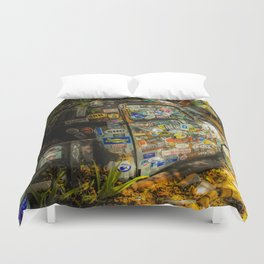 Old Pickup Truck, Key West Duvet Cover