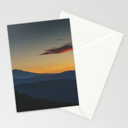 Mt Adams Sunrise - Pacific Crest Trail, Washington Stationery Cards