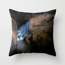 Castlevania: Vampire Variations- Hall Throw Pillow
