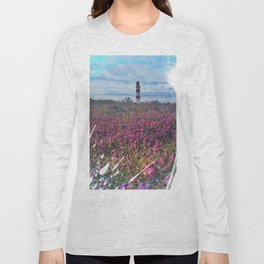 Lighthouse - paint graphic Long Sleeve T-shirt