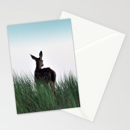 Deer Stop Stationery Cards