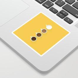Coffee + Simplicity Sticker