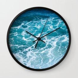 Ocean Waves in Hawaii Wall Clock