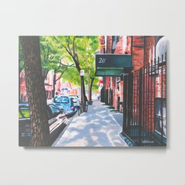 Sunday Morning in Brooklyn, NY Metal Print