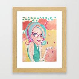 Cotton Candy Framed Art Print
