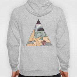 Sunday Morning Vibes with Bae- Love Illustration Hoody