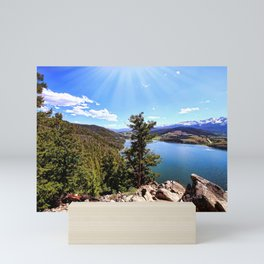 Sapphire Point Wedding Day Mini Art Print