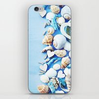 shells iPhone & iPod Skins featuring SHELLS by Ylenia Pizzetti