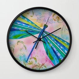 Dragonfly II Wall Clock