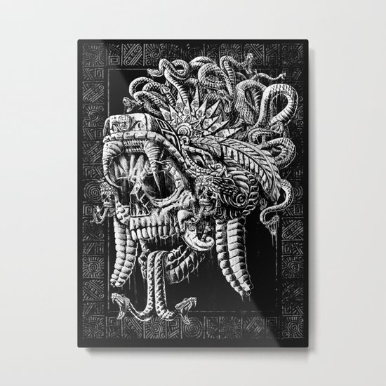 Serpent Warrior Metal Print