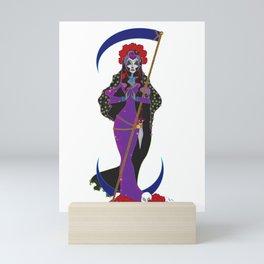 Santa Muerte Mini Art Print