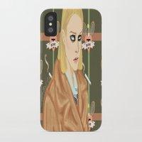 tenenbaum iPhone & iPod Cases featuring Margot Tenenbaum  by Maritza Lugo