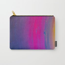 Magical Neon Streaks of Light Carry-All Pouch