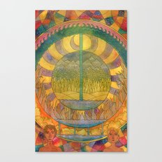 Days of Creation Canvas Print