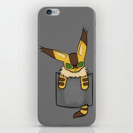 Pocket Teto (Fox Squirrel) iPhone Skin