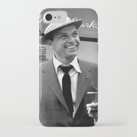 frank sinatra iPhone & iPod Cases featuring Frank Sinatra in Las Vegas by Gabriel T Toro