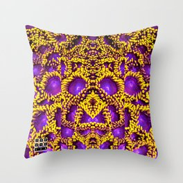 Zoophagous Zoanthids Throw Pillow