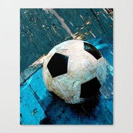 The soccerball version 2 Canvas Print
