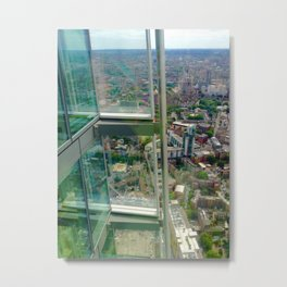 A View From The Shard Metal Print