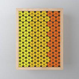 Ultraviolence Orange Framed Mini Art Print