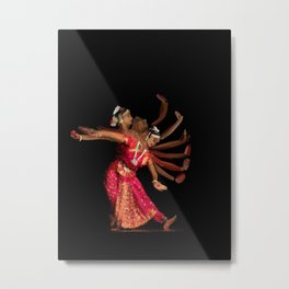 Bharatanatyam hand movement - 121 Metal Print
