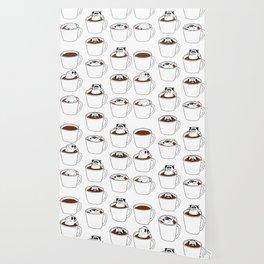 More Coffee Pug Wallpaper