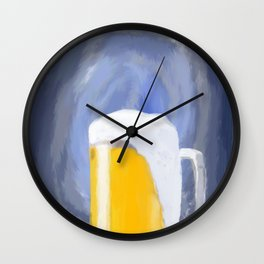 Belgian wit abstract Wall Clock