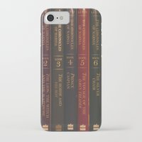 narnia iPhone & iPod Cases featuring A Narnia Journey by Shawn King