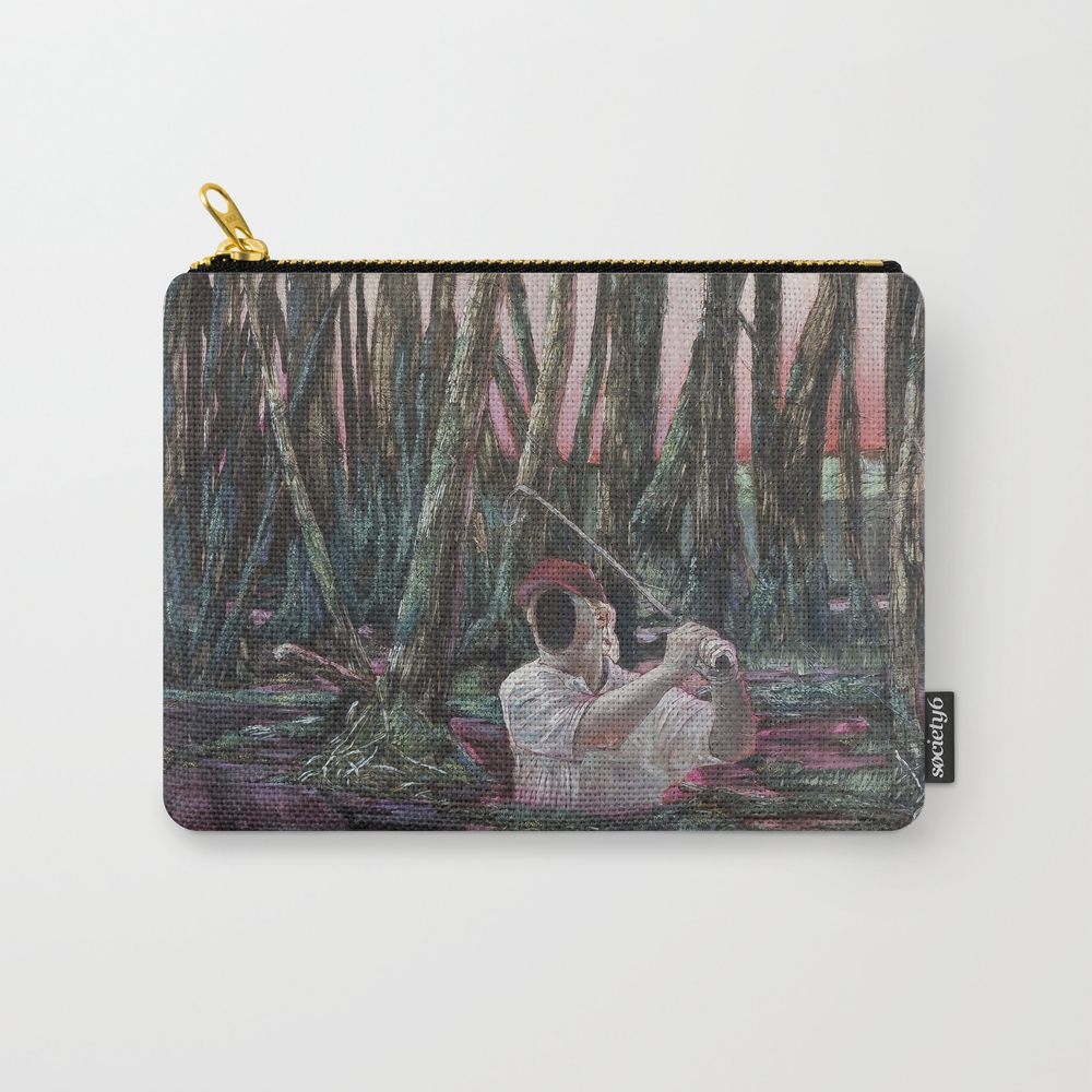 The Man Who Wasnt There Carry-all Pouch by Amzartworks CAP8649991
