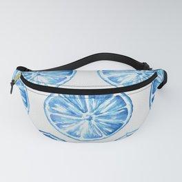 Blue Citrus Fanny Pack