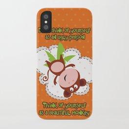 Monkey iPhone Case
