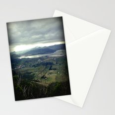 Tasmania's rural & mountainscape Scenery Stationery Cards