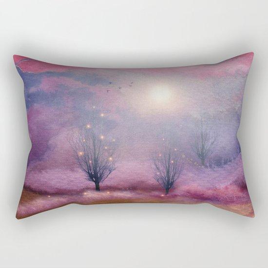 Calling The Sun XI Rectangular Pillow