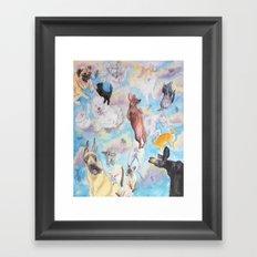 It's Raining! . . . . Framed Art Print