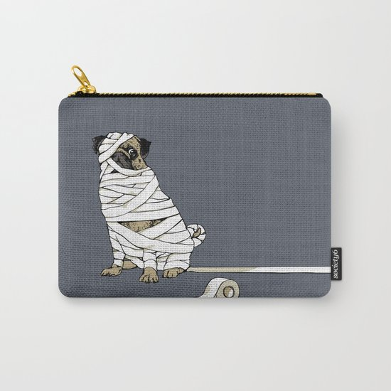 The Mummy Pug Return Carry-All Pouch