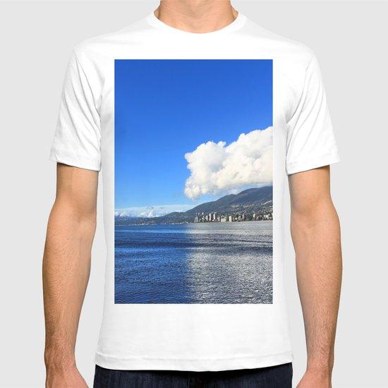 Blue vs. White T-shirt
