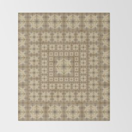 Morocco Mosaic 4 Throw Blanket
