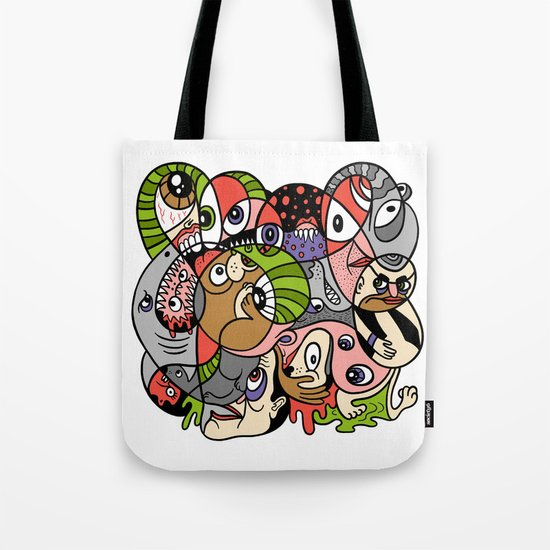 Daily Drawing 2321 Tote Bag