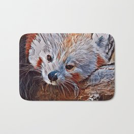 Impressive Animal - red Panda 3 Bath Mat